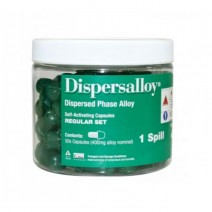 Dispersalloy Regular Set N 1 Amalgama 50 cápsulas
