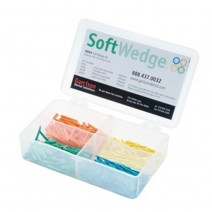 Softwedge Cuñas de Madera Kit Surtido 400u.