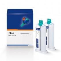 V-Posil Heavy Soft Fast Silicona de Adición Cartucho 2x50 ml.