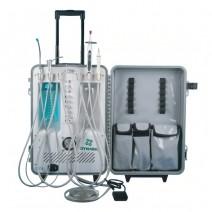 Equipo Básico Dental Portátil Autónomo + Ultrasonido + Lámpara