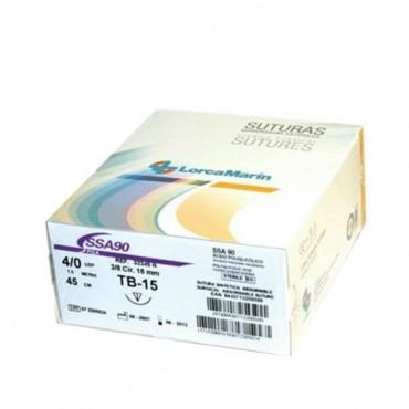 Sutura Sintética Absorbible SSA90 TB-15 Caja 36u.