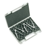 Kit 4 Fórceps de Extracción Odontopediatría