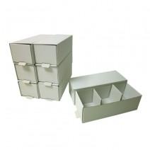 Caja para Modelos 3 Compartimentos 100 uds.