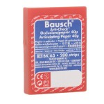 Papel BK 63 Doble Color Azul-Rojo Precortado