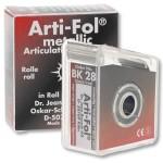 Arti-Fol Metallic BK 28 Doble Cara Rojo/Negro 12mic
