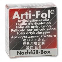 Lamina Arti-Fol Metallic BK 1028 doble cara Negro/Rojo, Caja Reposición