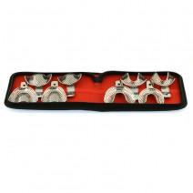 Juego Cubetas Perforadas Impresión Dental 8 uds.