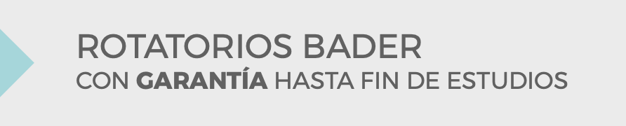 Rotatorios Bader garantía