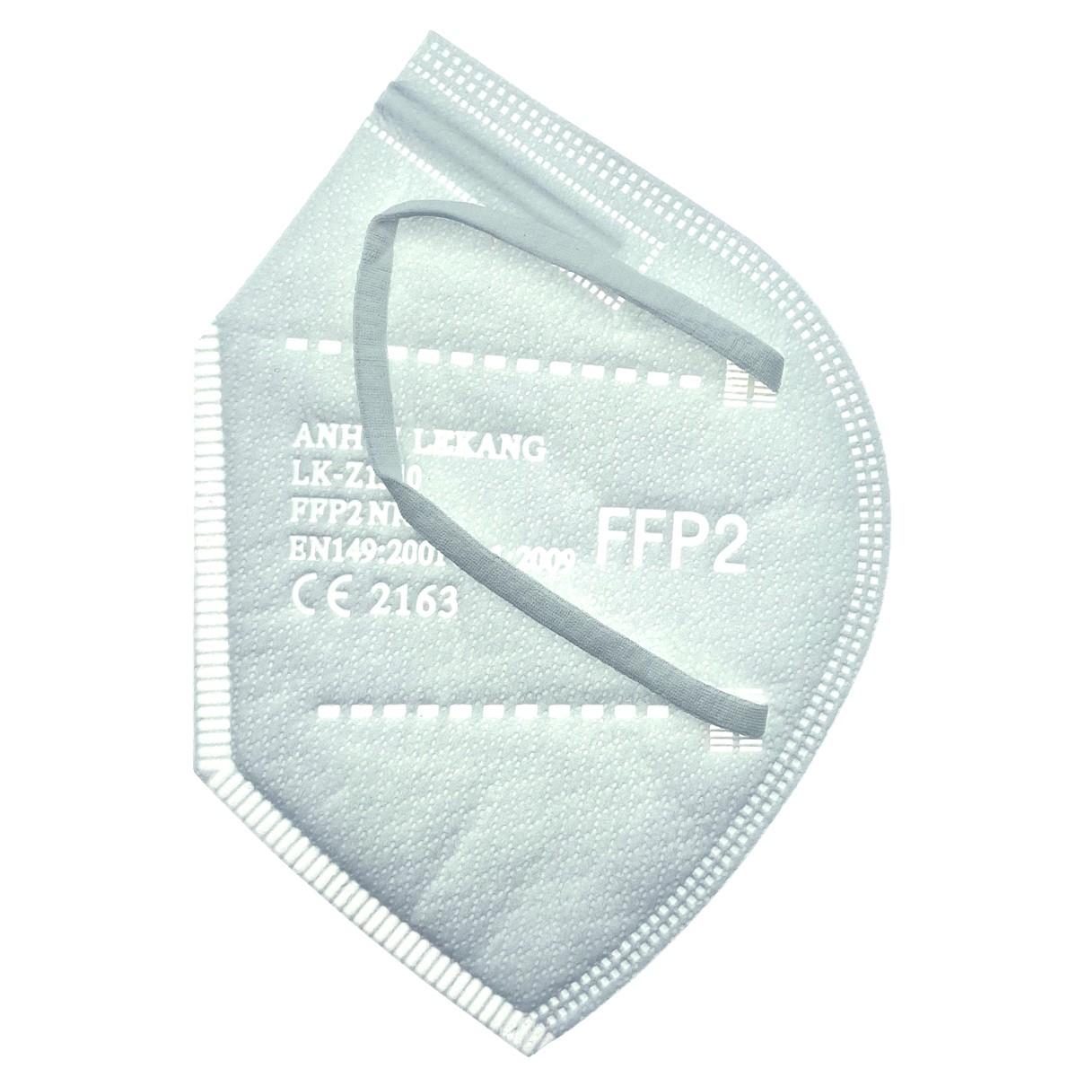 Mascarillas FFP2 CE2163 Desechables Adulto 20 uds LK-Z1510