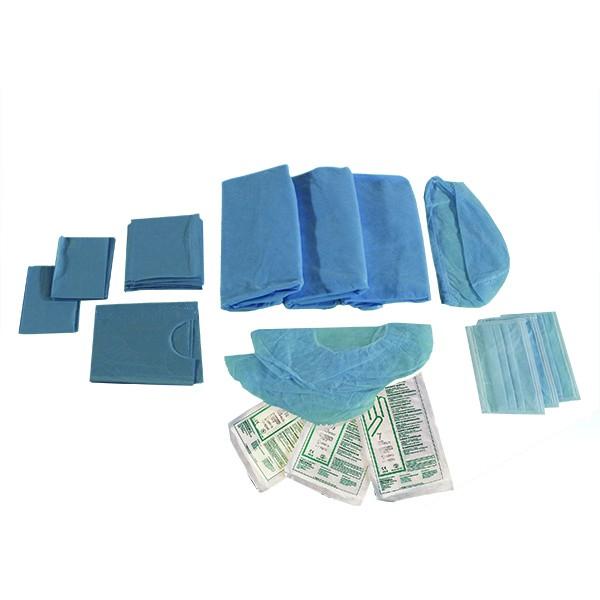 Set Estéril de Implantes Azul